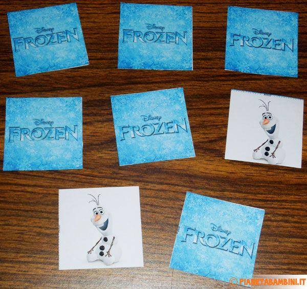 Carte del gioco memory di frozen da stampare gratis for Memory da stampare