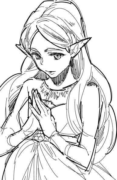 Princess Zelda (art by 草加) | The Legend of Zelda | Pinterest ...