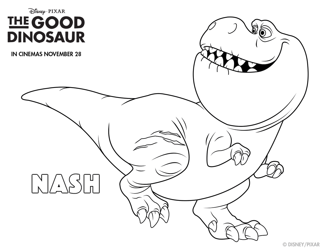 free printable disney the good dinosaur arlo u0026 spot coloring page