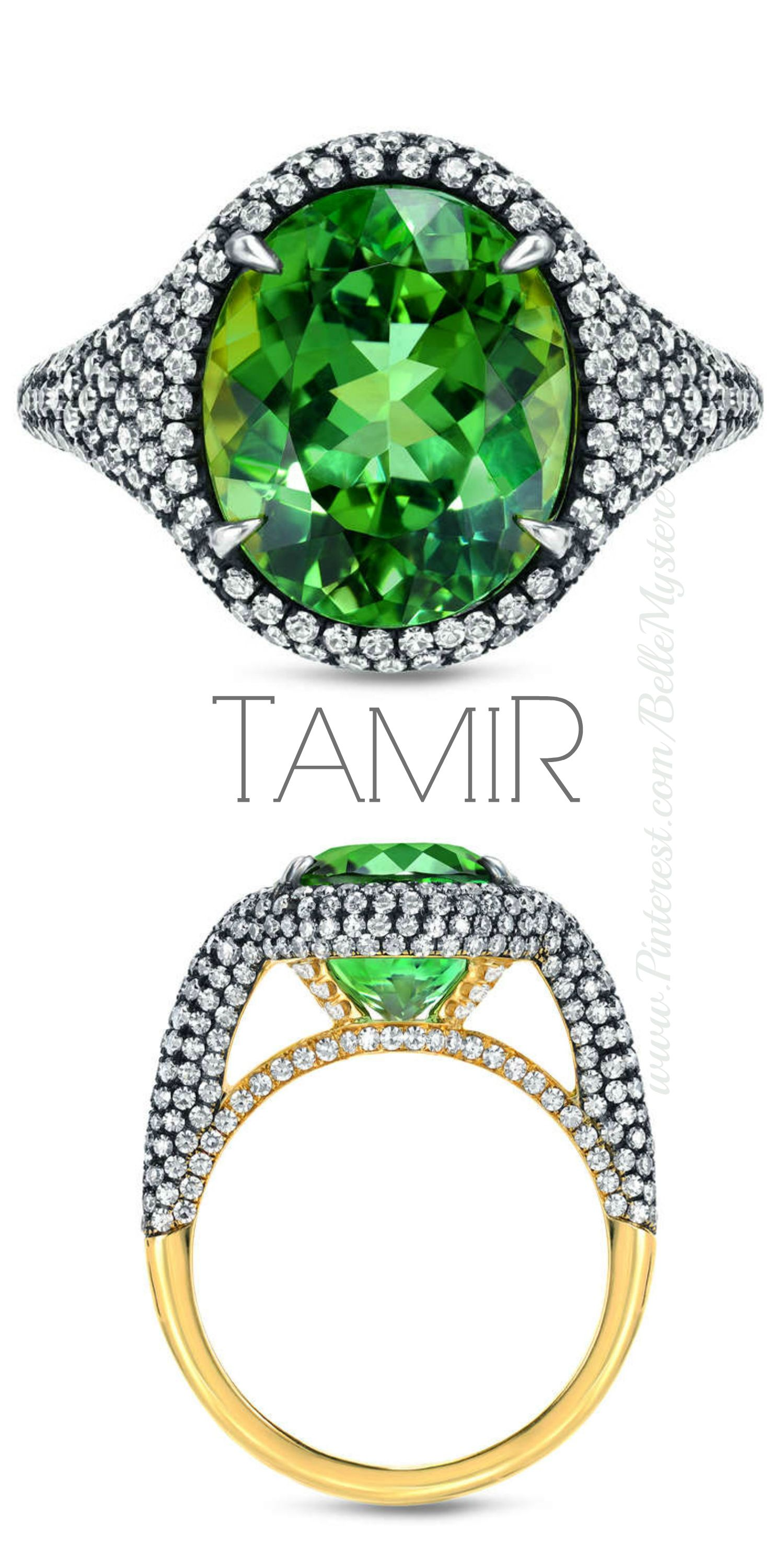 gold an paolo ring blue costagli zircon rings products white buy green tourmaline and