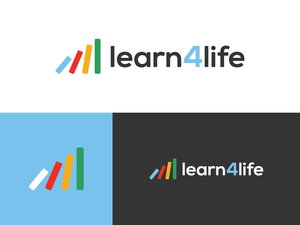 Learn4life Logo In 2021 Life Logo Logos Logo Design