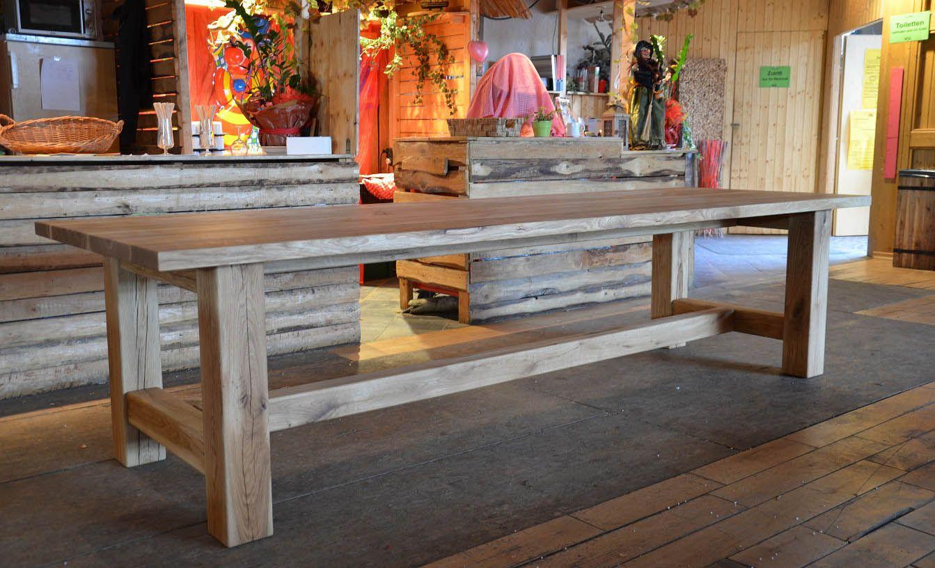 klostertisch eiche stamm esstisch traumhausgarten in 2018 pinterest eiche esstische und tisch. Black Bedroom Furniture Sets. Home Design Ideas