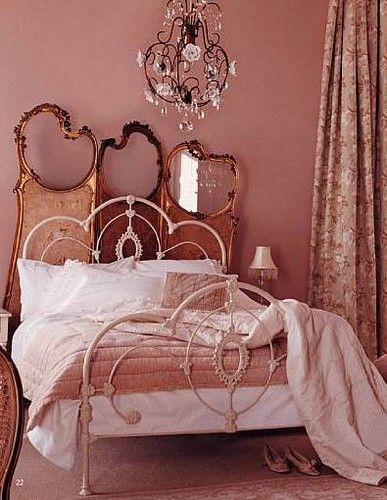 The Gilded Mirror Pink Bedroom Apartment Beautiful Bedrooms