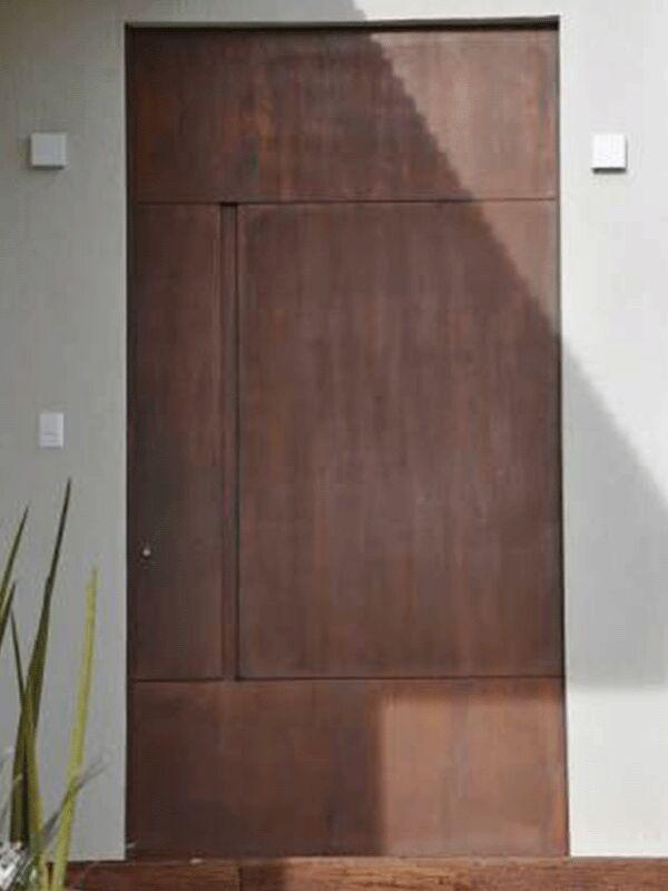 Fabricamos qualquer tipo de produto em aço CORTEN Escapas Portas Portões Fachadas & Fabricamos qualquer tipo de produto em aço CORTEN Escapas Portas ...
