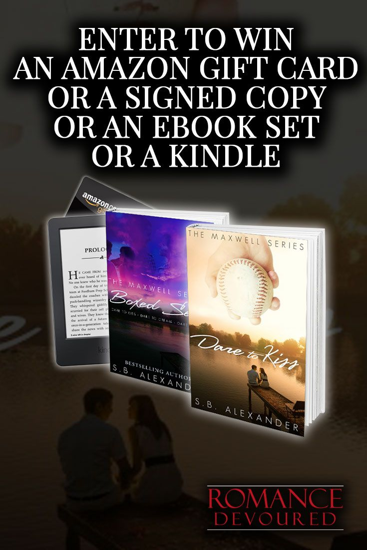 Win Signed Copies, eBooks, a $25 Amazon Gift Card or Kindle Paperwhite from Bestselling Author S.B. Alexander