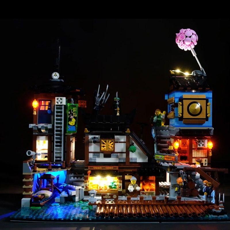 LED Light kit for LEGO 70840 Welcome to Apocalypseburg VONADO ONLY LED