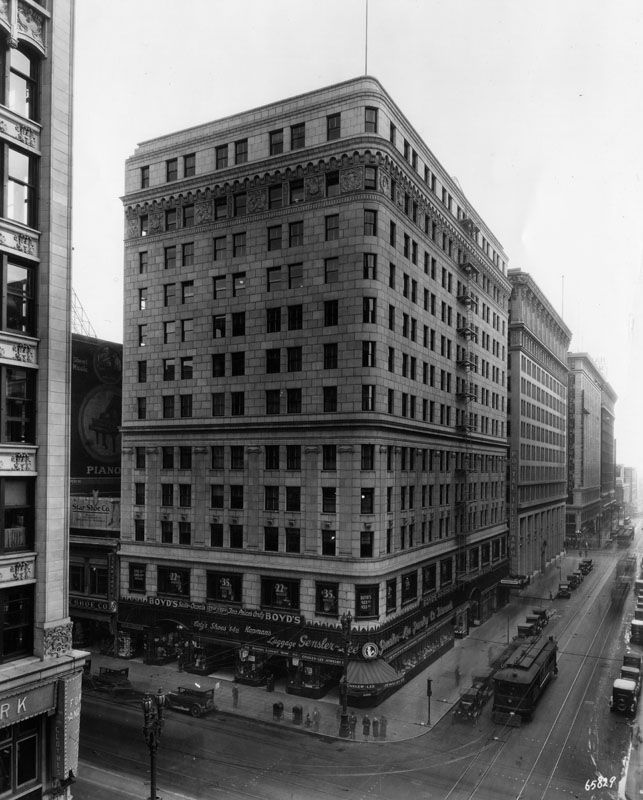 Downtown S Foreman Clark Building To Become 124: Looking Across The Intersection Of Broadway