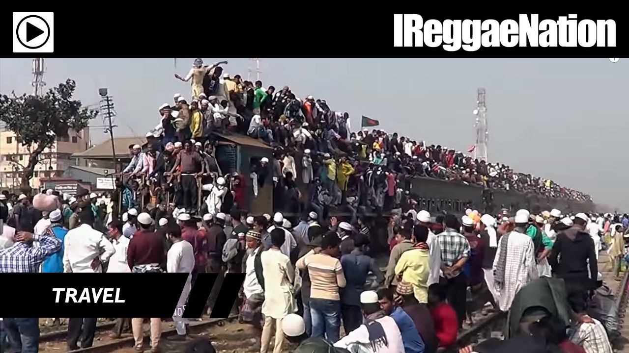 This Is Definitely The Craziest & Most Dangerous Train Ride In The World