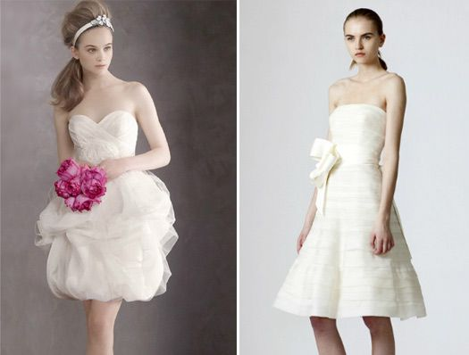 These Shorter Wedding Are Fabulous They Vera After All