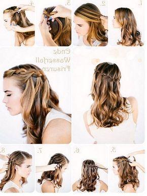 Leichte frisuren lange haare anleitung
