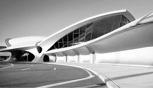 TWA Flight Center, Eero Saarinen (1962).