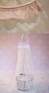 Image of READY TO SHIP! Pink Rose canopy