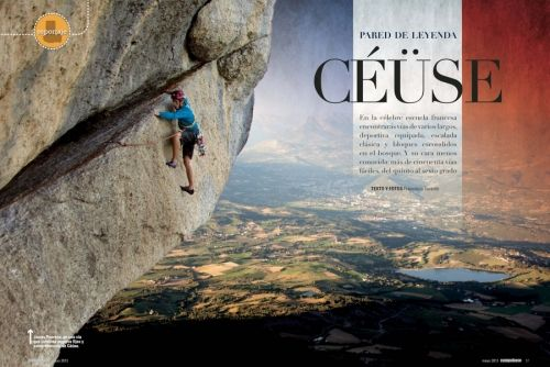 www.fotovertical.com by Francisco Taranto Jr. and Sandra Ducasse - Published work - Climbing reports around the world.