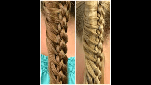 Round 4 Strand Ladder Braid Step By Instructions Beautiful DIY Hairstyles
