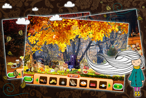Enjoy the beautiful fall colors in a variety of settings. Autumn Garden features 12 scenes full of fantastic flora and artfully hidden items.<p>Three different modes of play:<p>- Search by Random: You will be given the random shape of the objects that you have to find. <br>- Search by Picture : You will be given the pictures of the objects that you have to find.<br>- Search by Silhouette: You will be given the silhouettes of the objects that you have to find.<p>Images are in beautiful HD…