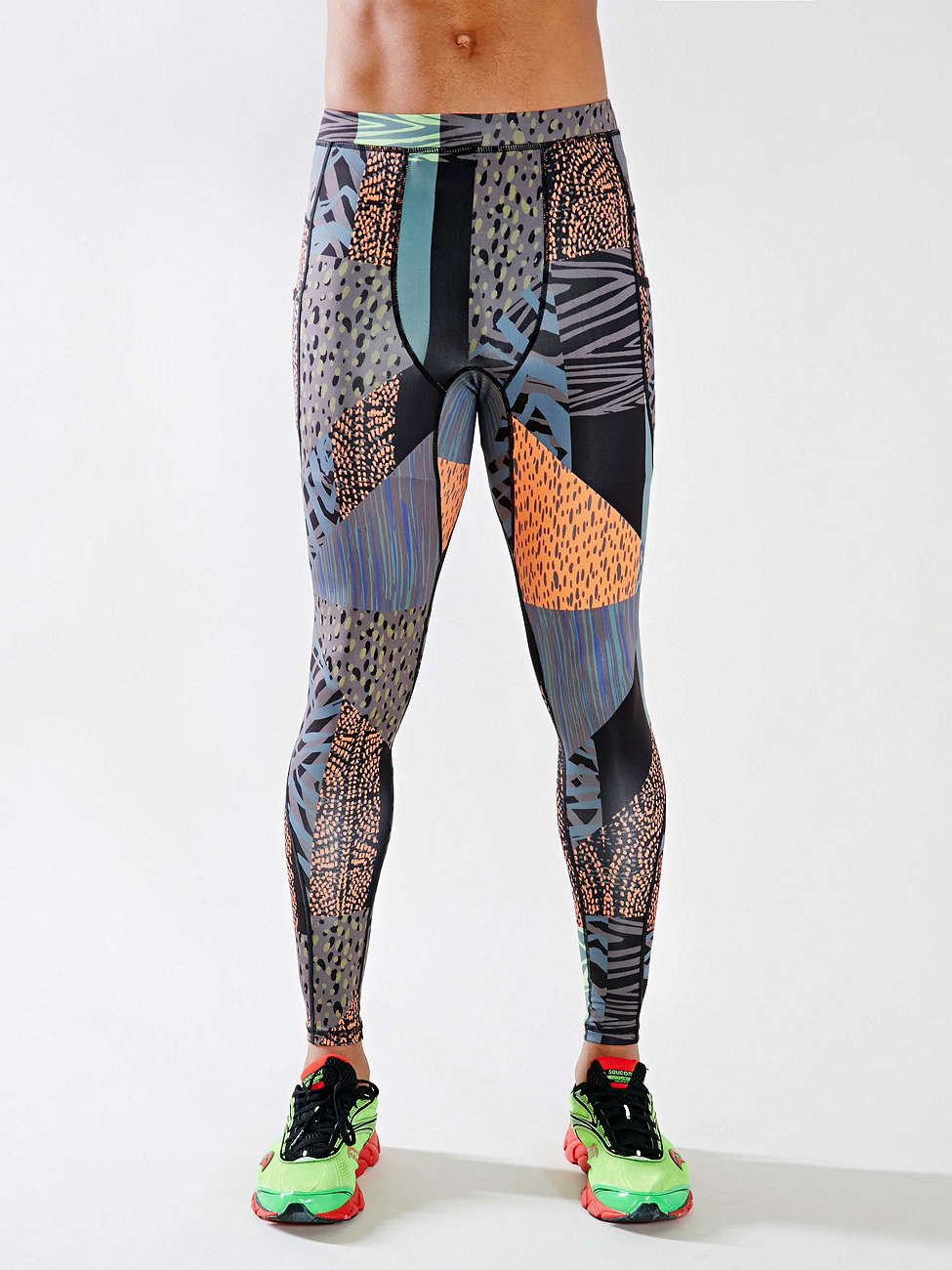 f01a663118b8a5 Without Walls Patchy Animal Print Run Tight - Urban Outfitters Coole  Outfits, Sport-leggings
