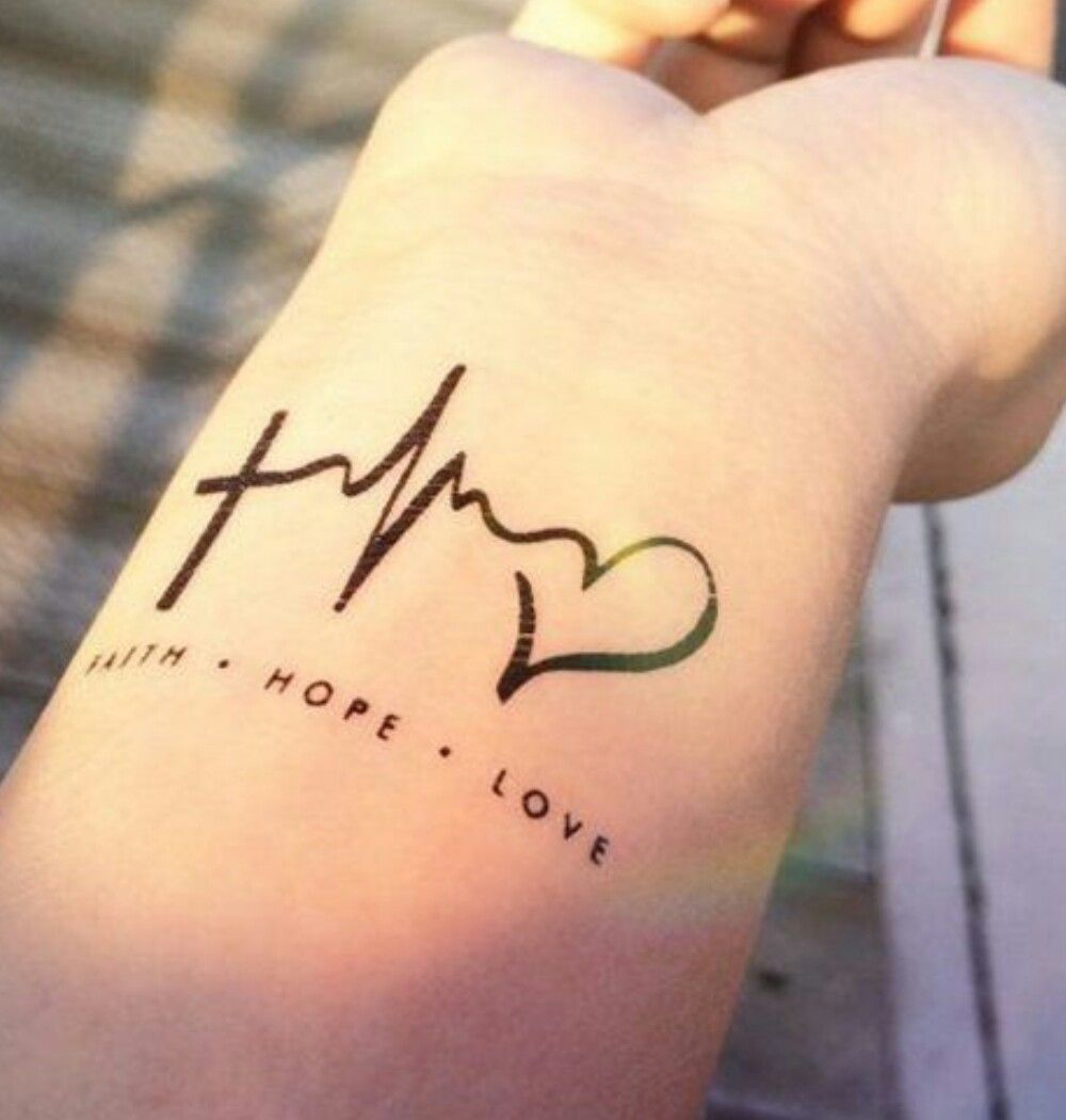 Faith Hope And Love Tattoo Cool Wrist Tattoos Tattoo Designs Tattoo Designs For Women