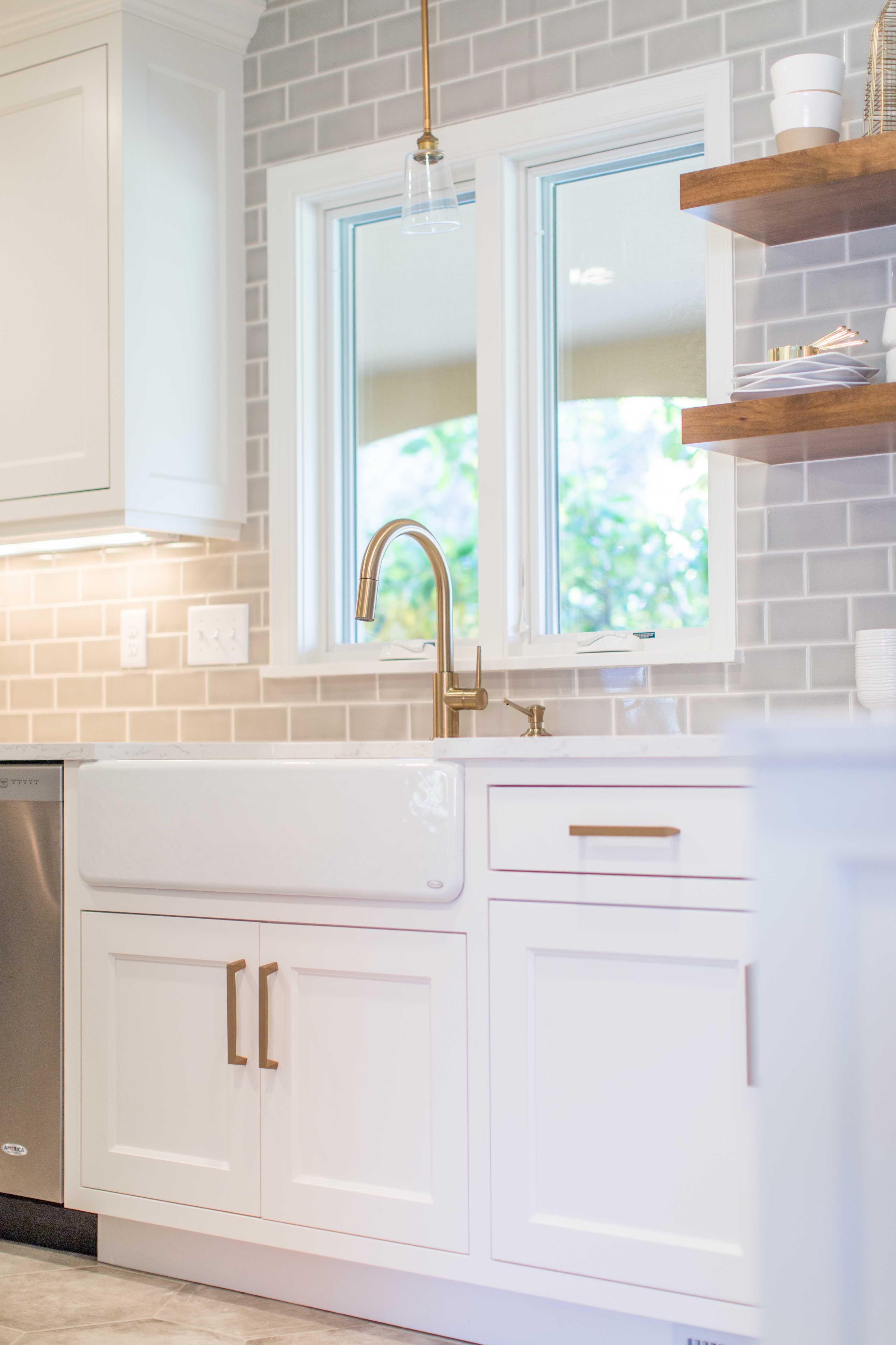 Custom Jkath Design Build Cabinetry :: Benjamin White Dove Paint ...