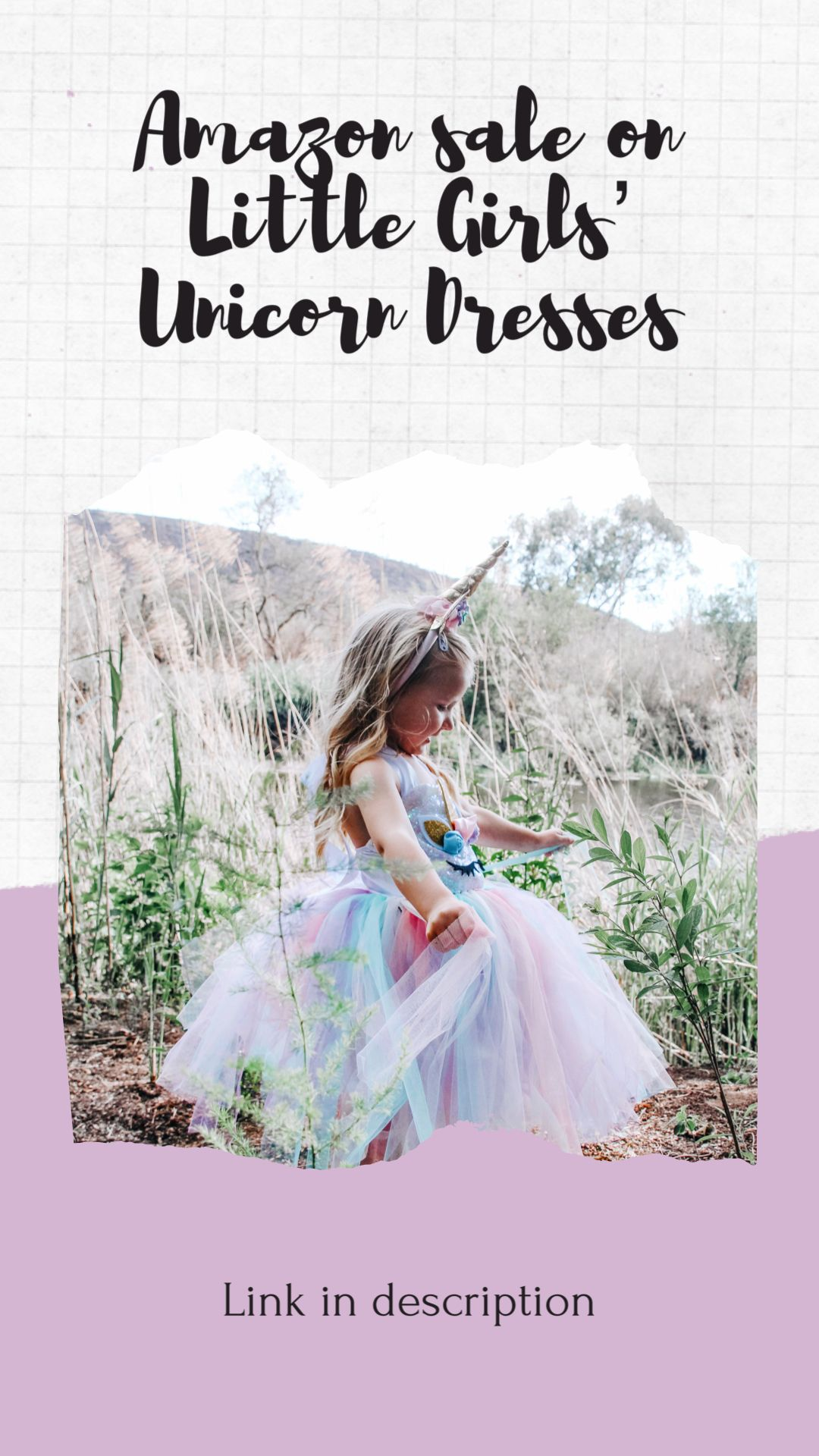 Beautiful Unicorn Dresses now on sale on Amazon