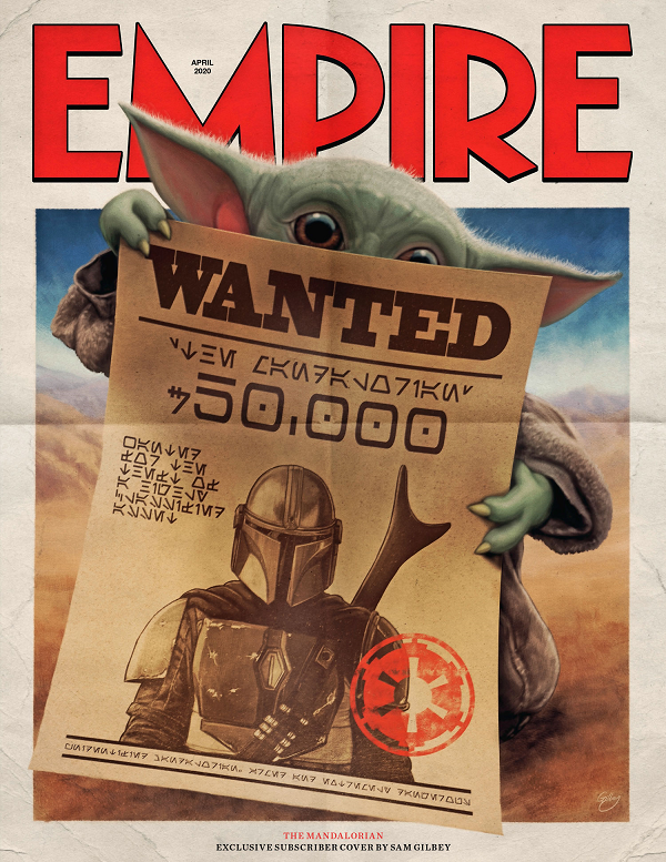 The Mandalorian Featured In Upcoming Edition Of Empire Magazine Star Wars Pictures Star Wars Poster Star Wars Images