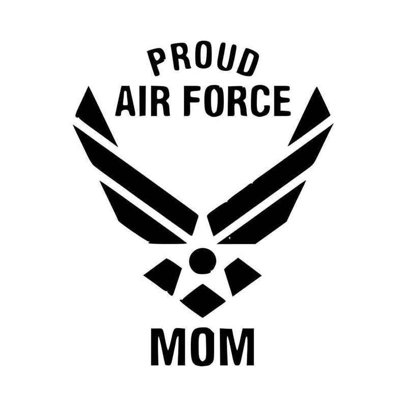 Proud US Air Force Sister Military Vinyl Decal Sticker Window Wall Car
