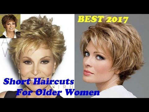 Hairstyles Short Hair New Short Haircuts For Older Women 2017  2018  Ideas And Tutorials