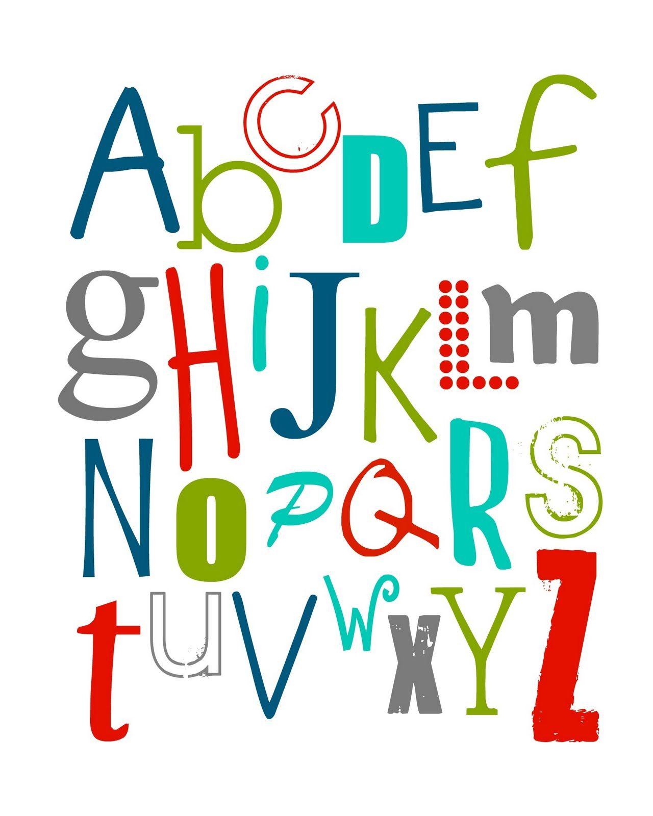 Free Abc Printable