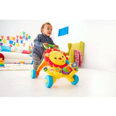 Fisher Price Musical Lion Baby Walker Multicolor Products