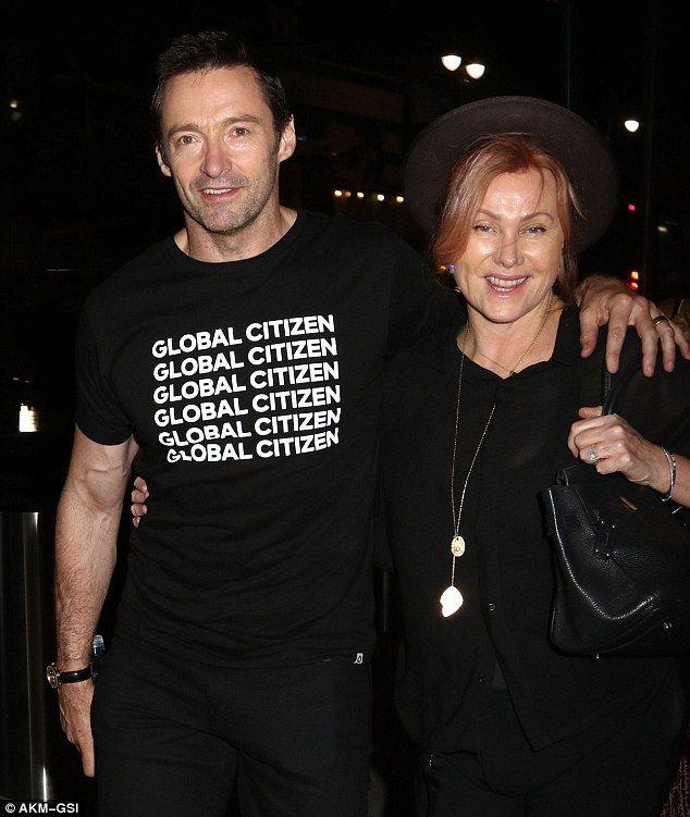 Hugh Jackman And Deborra Lee Furness Attend Adele S Gig In New York