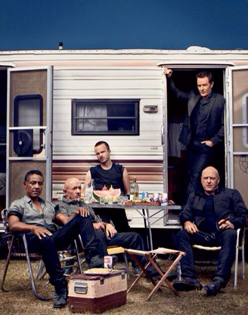 Allie wants a Breaking Bad Birthday Party...How funny would it be to have an old RV...what a weird idea for a party LOL