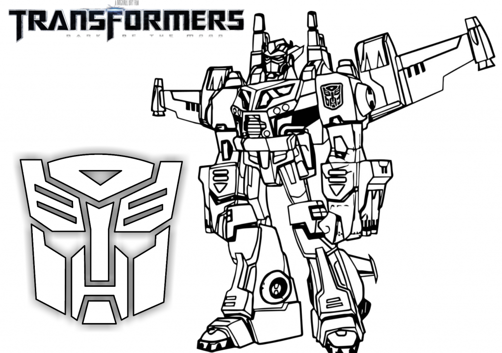 transformers autobot optimus prime printable coloring page