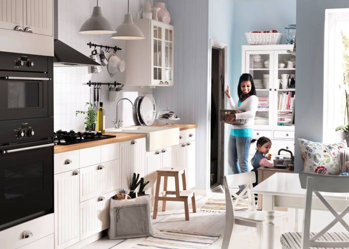 Ikea Beadboard Kitchen Cabinets IKEA Catalog 2015 | Ikea kitchen design, Ikea kitchen, White ikea