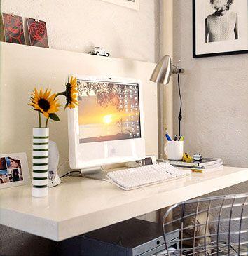 office floating desk small. Suzie: Domino Magazine - Floating Desk For Small Space! Office I