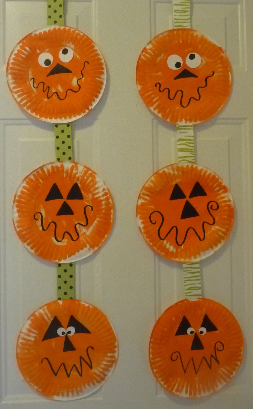 Paper Plate Pumpkins & Paper Plate Pumpkins | Projects to Try | Pinterest | Craft ...