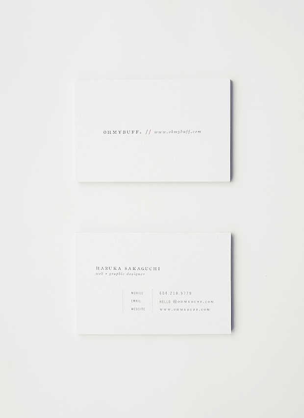 Simple business cards | D E S I G N | Pinterest | Simple business ...