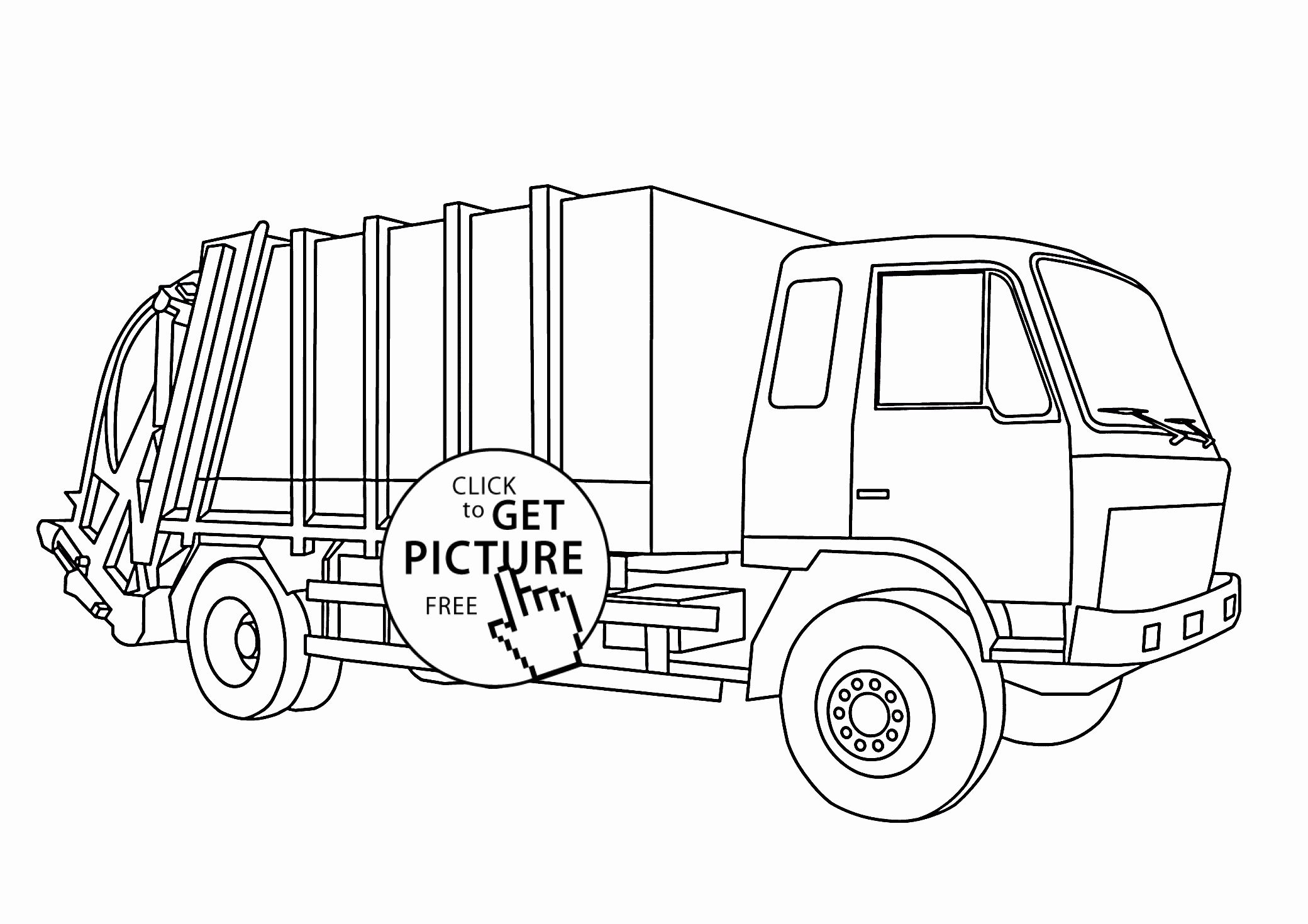 Tonka Truck Coloring Pages Best Of Garbage Truck Coloring