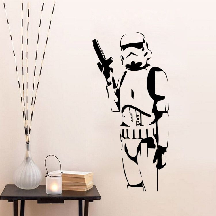 Star Wars 3d Wall Decal Sticker Movies Collectables Star Wars