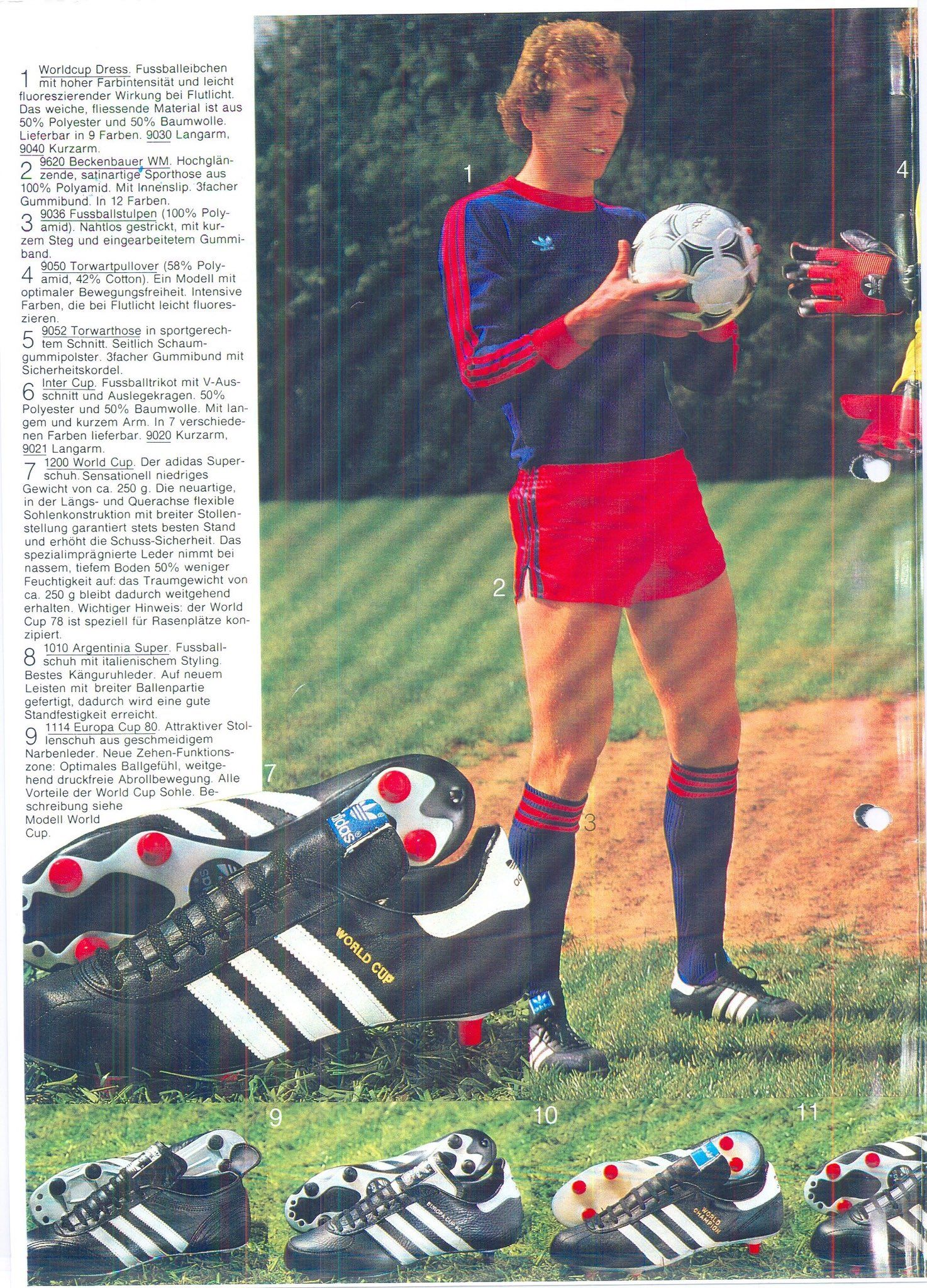 adidas 78   Soccer gears   Adidas football, Classic football
