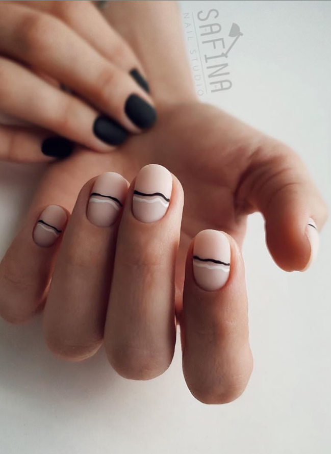 42 Classy Matte Natural Short Nails Design For Fall And Autumn - Page 9 of 42 - The Secret of Modern Beauty