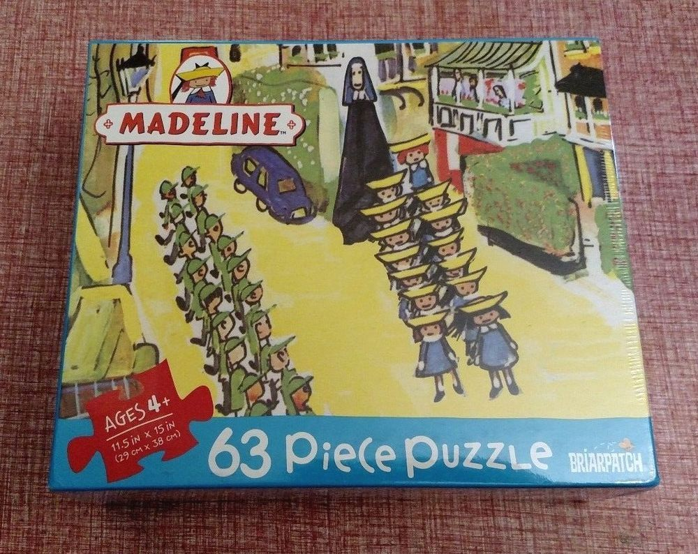 """Madeline """"A Walk In London"""" 63 Piece Jigsaw Puzzle Ages 4"""