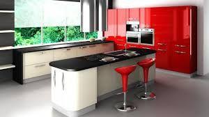 Resultado de imagen para muebles blanco con rojo