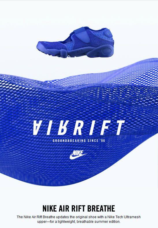 best service 82315 5bbbb Nike Air Rift Ultra Breathe