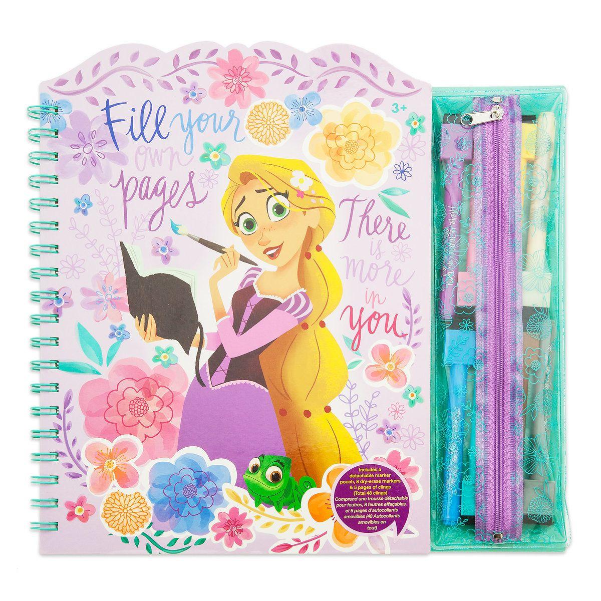 Eraser Scribble Set Disney Princess Note Book Pencil