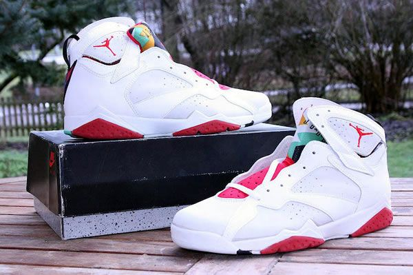 552419ee5b7 ... As of lately, rumors are circulating that 2015 shall mark the return  and release of Vintage Gear Hare Jordan 7 Promo Movie Prop NIKE ...