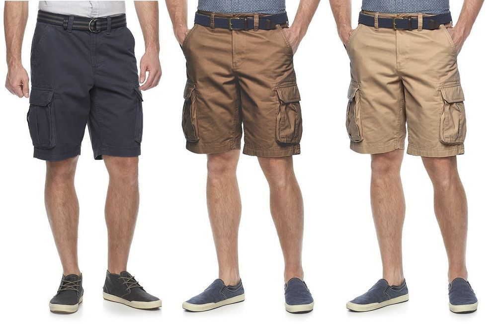 46 50 Urban Pipeline Men/'s Classic Length Cargo Shorts Sizes 44