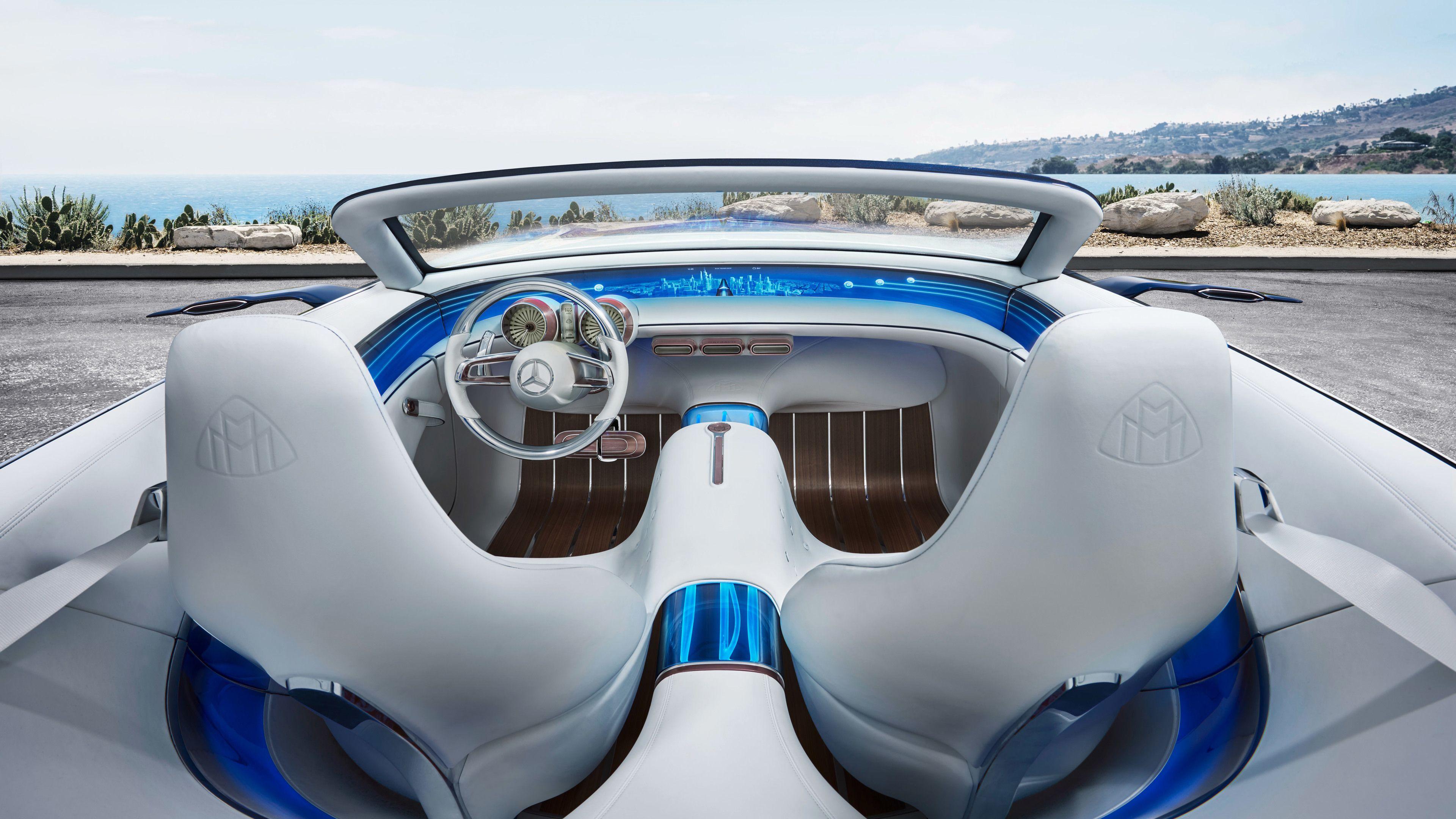 Vision Mercedes Maybach 6 Cabriolet Interior mercedes wallpapers, mercedes mayba…