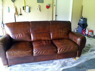 Weeds How To Dye Or Stain Leather Furniture Leather Furniture