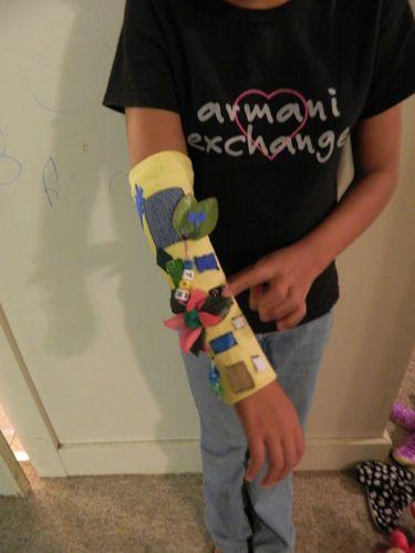 Autism Special Needs Sensory Tactile Fidget Sleeve