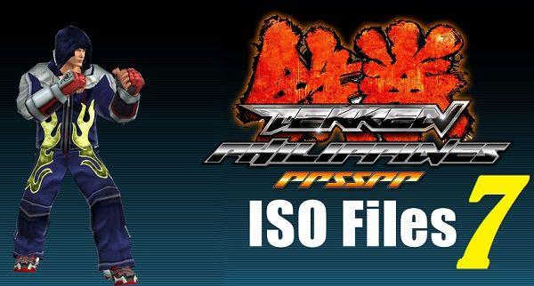 Tekken 7 ISO APK - Android Tekken Philippines PPSSPP