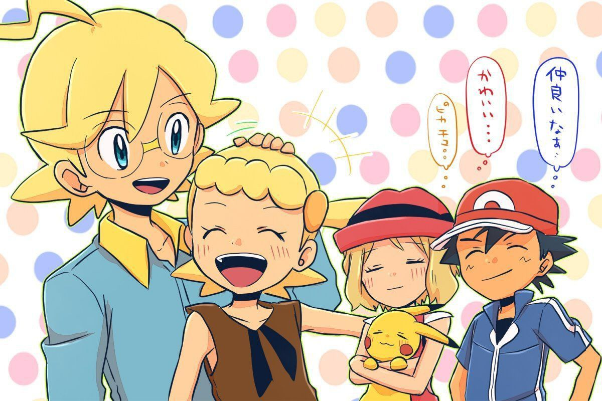 [MMD]Pokemon] Ash, serena and Bonnie ★ ECHO - YouTube